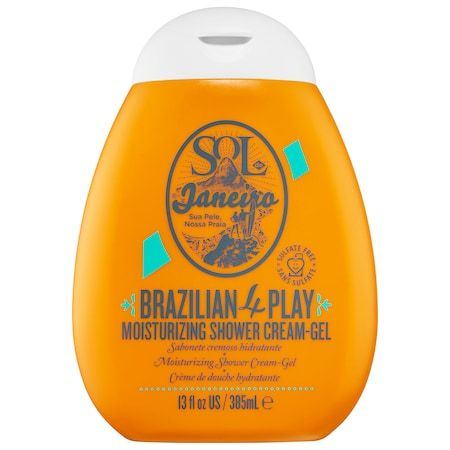 Brazilian 4 Play Moisturizing Shower Cream-Gel