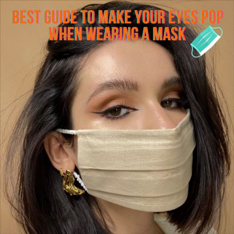 5 Gorgeous Eye Makeup Looks that Look Great with a Face Mask