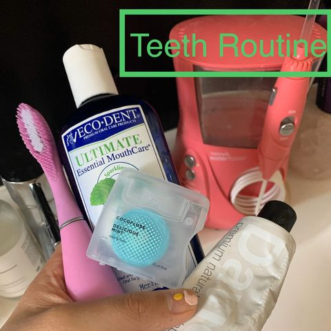 My sustainable teeth routine