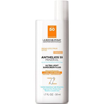 Anthelios 50 Mineral Ultra Light Sunscreen Fluid SPF 50, LA ROCHE-POSAY , cherie