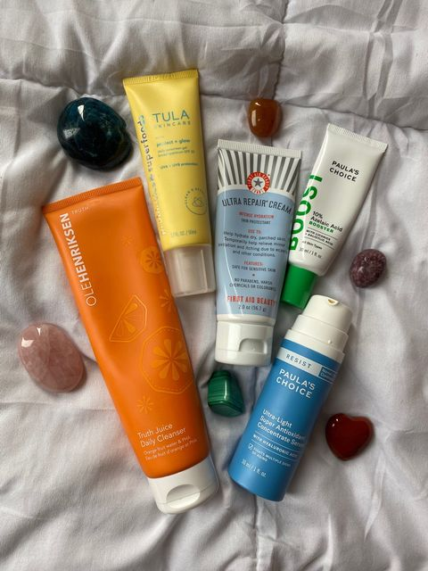 ✨ MY FAVORITE PRODUCTS FOR COMBO TEXTURED SKIN