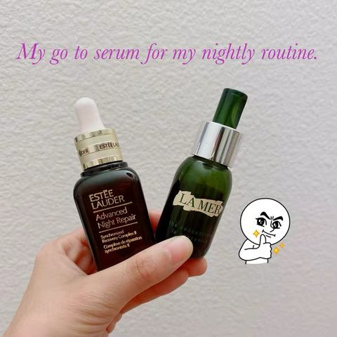 My go to anti aging serum for my nightly routine