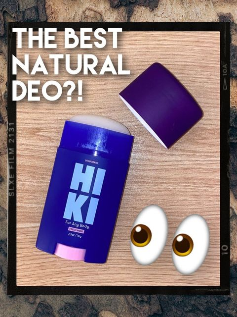 NEW Natural Deo!!! 💖actually clear & nonsticky!