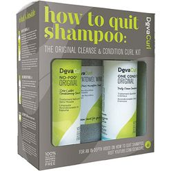 How to Quit Shampoo: The Original Cleanse & Condition Curl Kit