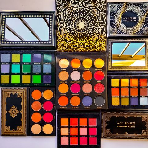 The best quality eyeshadow palettes