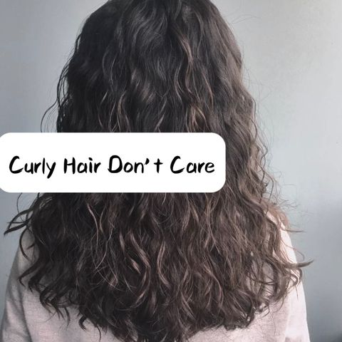 Curly Hair Daily Routine