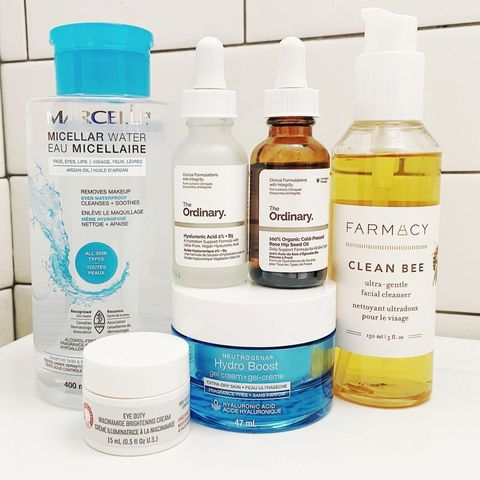 Basic Nighttime Routine for Normal Skin