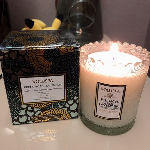 Recently favorite candle!  VOL
