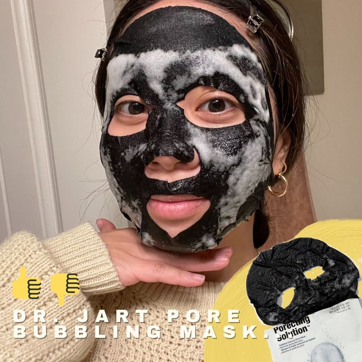 are pore bubbling masks worth it? 🧼🛁💬