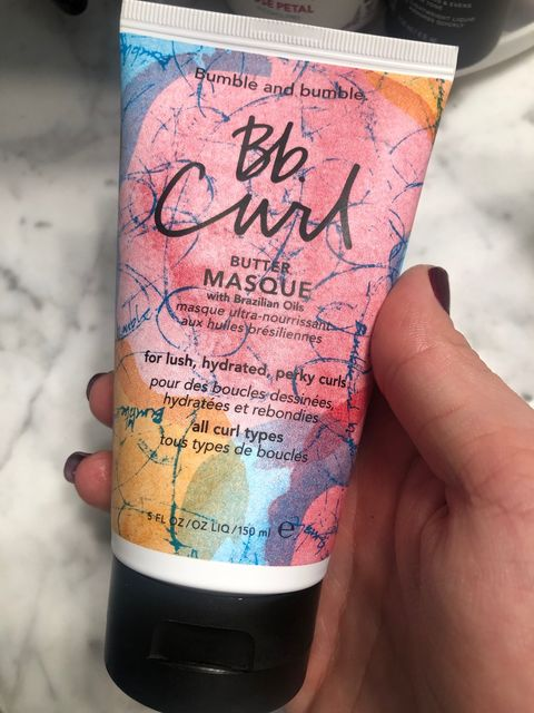 Bb Curl for these Damaged Curls!