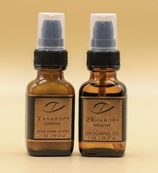 Signature After Shave Lotion Sm + Beard Oil Set