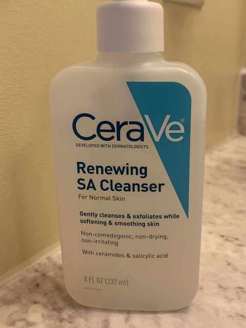 Saved My Skin? Cerave SA Cleanser one week later