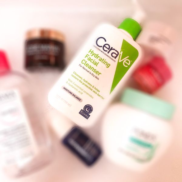 The CeraVe hydrating facial cleanser is a very gentle face wash that is great for... | Cherie