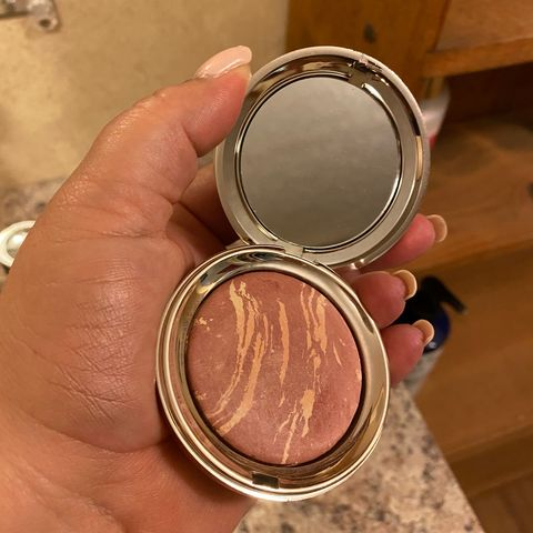 Ciate Marbled Light Blush Swatch