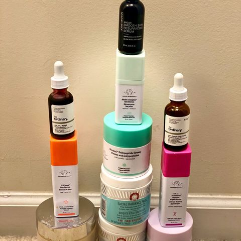 Tower Thursday with exfoliators