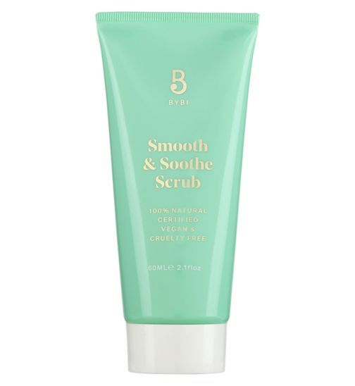 Smooth and Soothe Scrub Exfoliator / Natural Facial Scrub