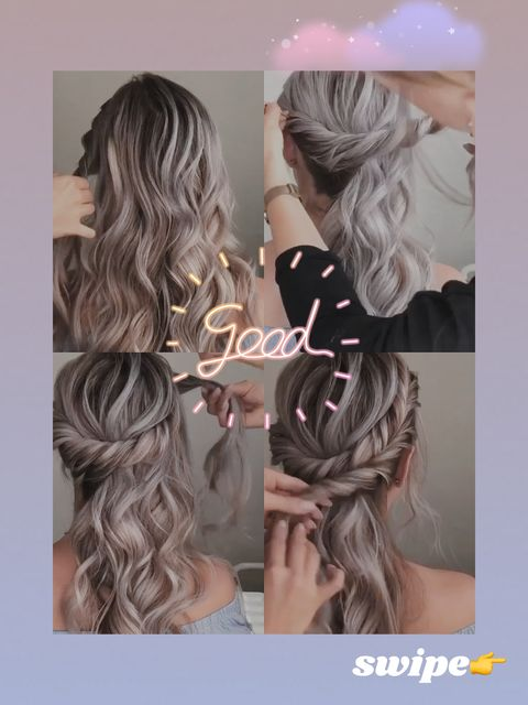 😍Easy summer hairstyles you should not miss!