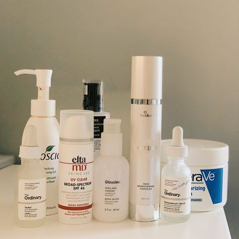 Review my routine (dry/sensitive skin)