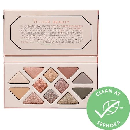 Rose Quartz Crystal Gemstone Eyeshadow Palette