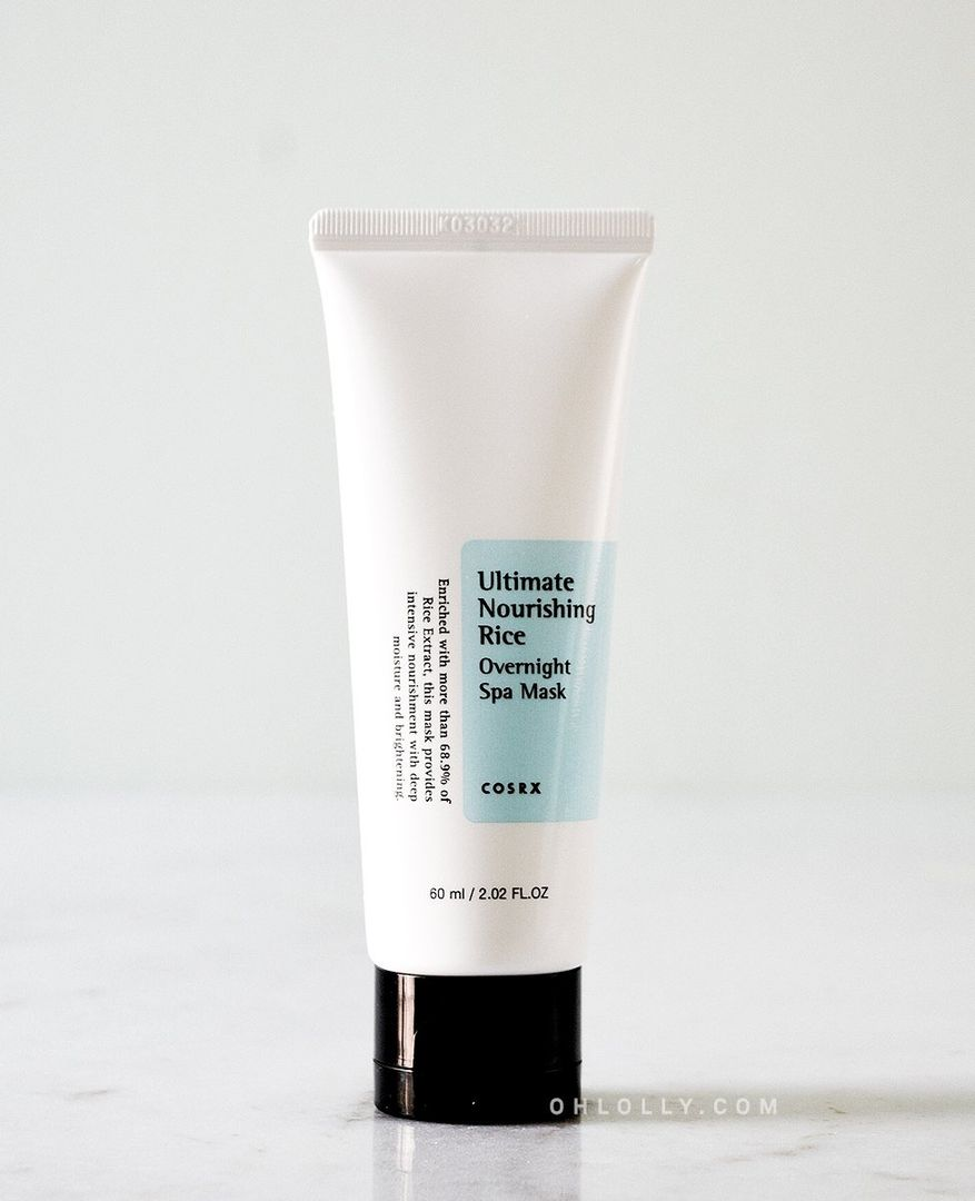Ultimate Nourishing Rice Overnight Spa Mask