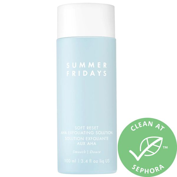 Soft Reset AHA Exfoliating Solution, SUMMER FRIDAYS, cherie