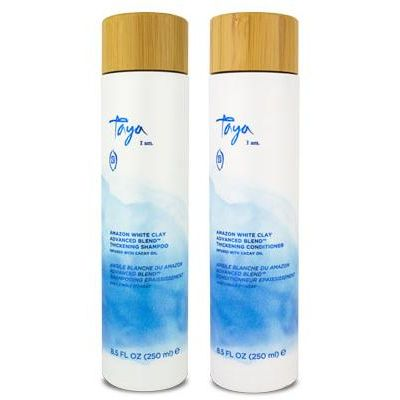 Amazon White Clay Advanced Blend Thickening Shampoo & Conditioner Duo, taya I am, cherie