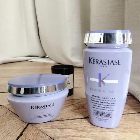 KERASTASE make my hair color lasts longer~