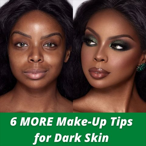6 Top Makeup Tips Every Girl With Dark Skin Should Know