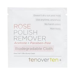 Rose Polish Remover Cloths