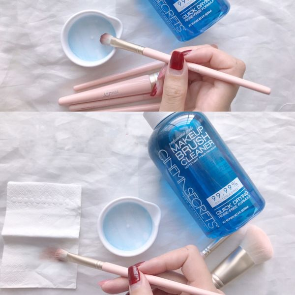 This is the best brush cleaner on the market.   Cherie