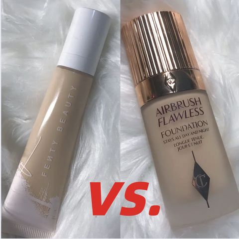Charlotte Tilbury VS. Fenty Beauty, Which Foundation U Will Choose?