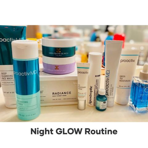 Night Routine for GLOWING Skin