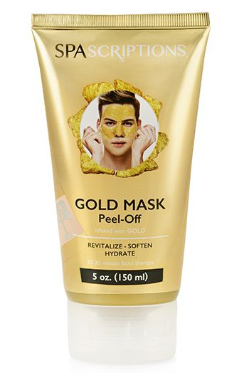 Peel-Off Gold Mask
