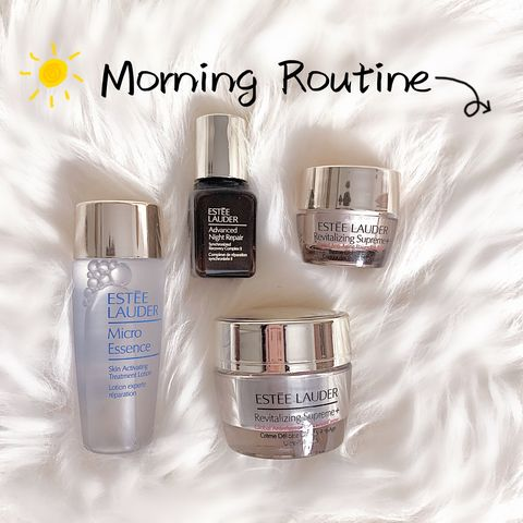 Morning to-go skincare routine