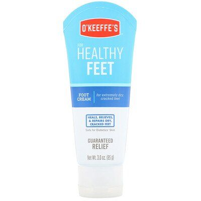 Healthy Feet, Foot Cream, Unscented
