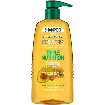 Fructis With Active Fruit Protein Triple Nutrition Shampoo