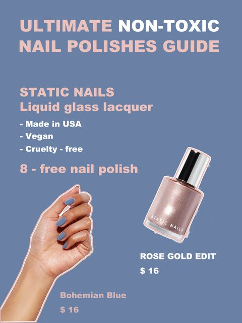 Nontoxic Nail Polishes at Every Price💅🏻 Avoid 3 risky ingredients!