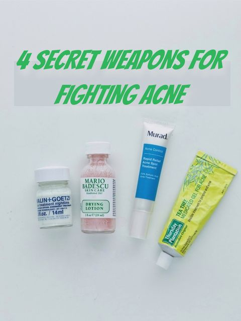 🌟🌟They are my secret weapons for treating acne!!!
