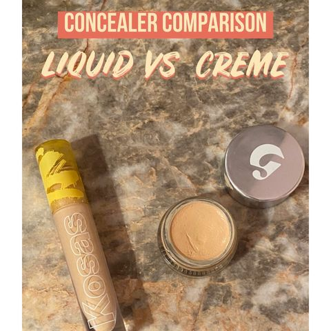 Concealer Comparison: Liquid vs. Creme
