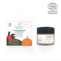 Blood Orange & Rosehip Organic Lip Scrub