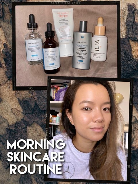 ACNE-CLEARING SKINCARE ROUTINE (combination sk.)