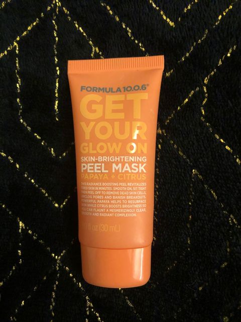 """I'd rather get coal than this """"peel off"""" mask"""