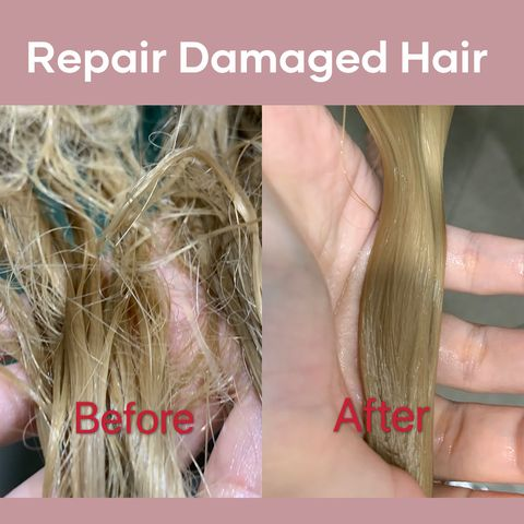 Few steps to save your damaged hair