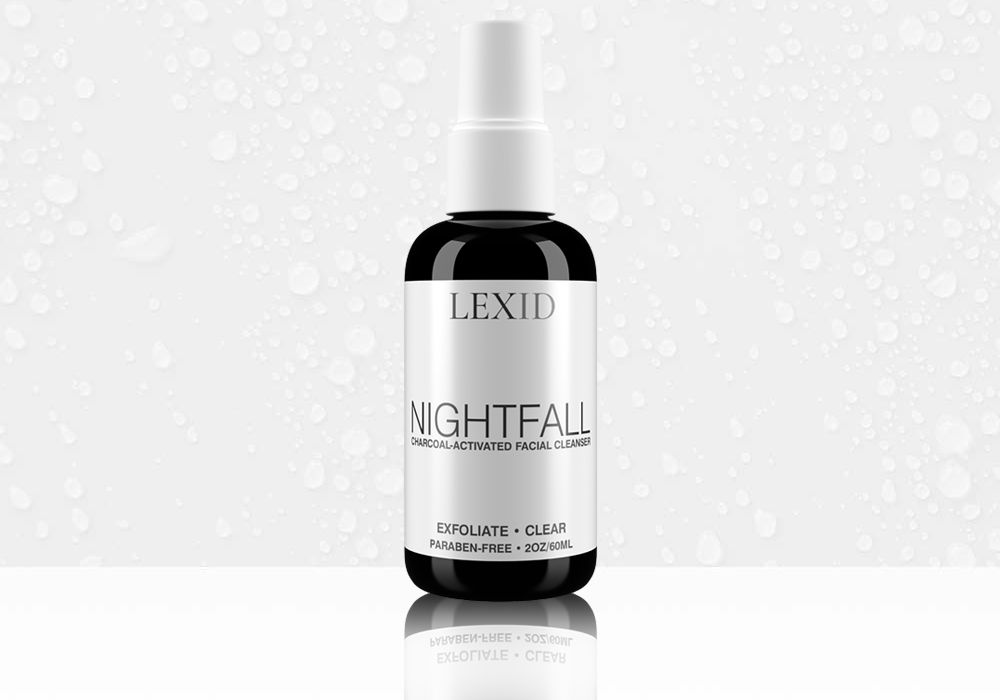 Nightfall Charcoal-Activated Facial Cleanser