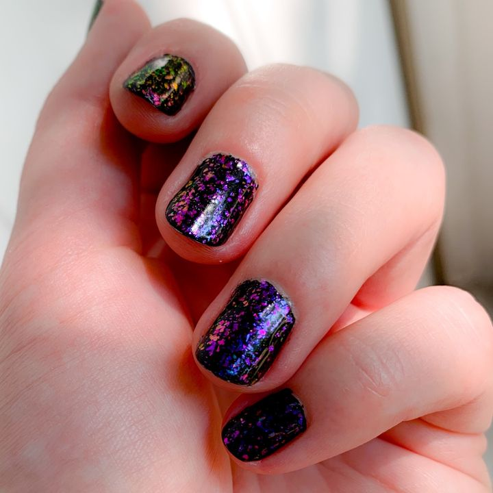 The best manicure I've ever given myself!