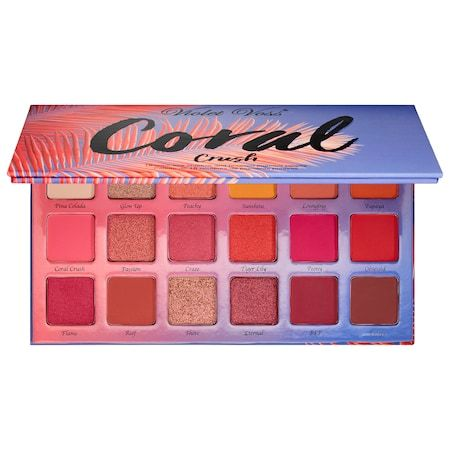Coral Crush Eyeshadow and Pressed Pigment Palette