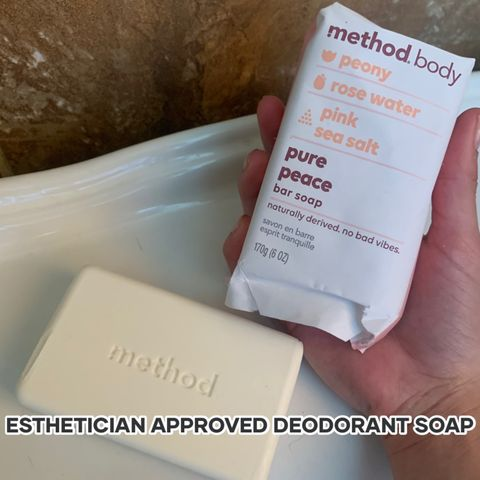ROSE SCENT APPROVED DEODORANT SOAP