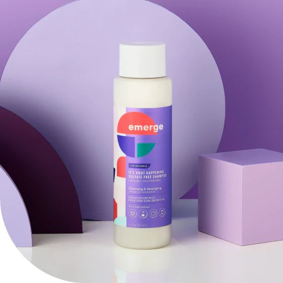 It's Knot Happening Sulfate Free Shampoo, emerge, cherie
