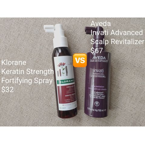 $67 vs. $32 Guess which one is better for hair loss?🤔