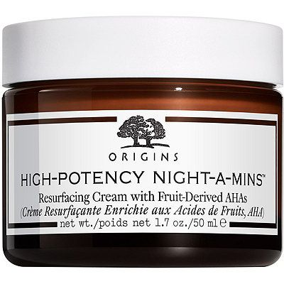 High-Potency Night-a-Mins Resurfacing Cream With Fruit-Derived AHAs